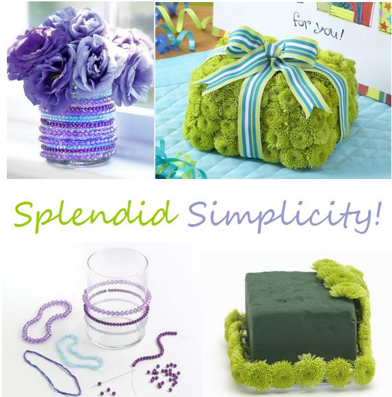 easy-diy-purple-and-green-flower-centerpieces