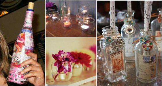 wine-bottle-and-jar-wedding-decor-ideas