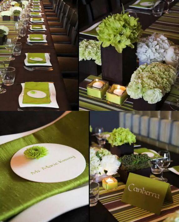 94 Green With Envy Weddings That I Love Wedding Wedding Themes