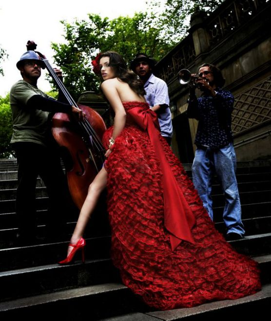 sexy-red-ruffle-wedding-gown