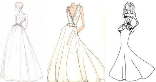 Wedding Dress Sk...Fashion Design Wedding Dresses