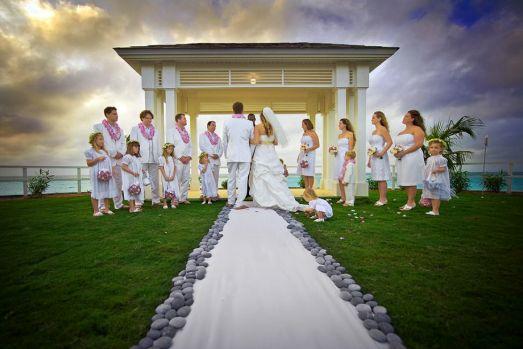 Diy Beach Wedding Ceremony Decorations : My island wedding aisle runners