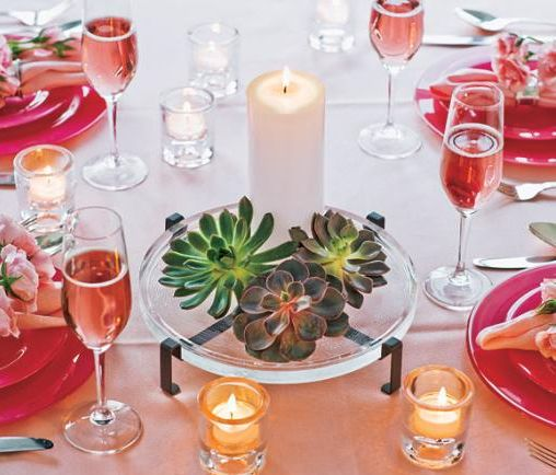 partylite-succulent-tropical-orange-and-red-tablescape1
