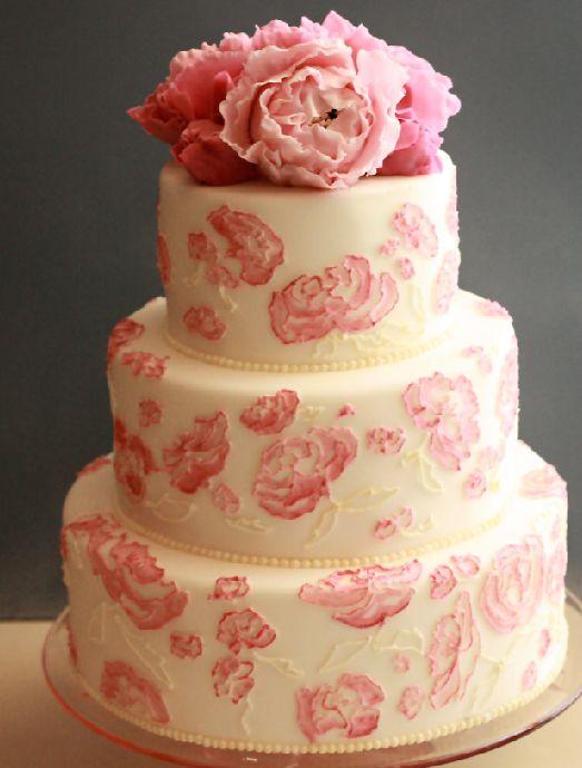 pink-peony-wedding-cake-via-roxycakesdotcoslashblog