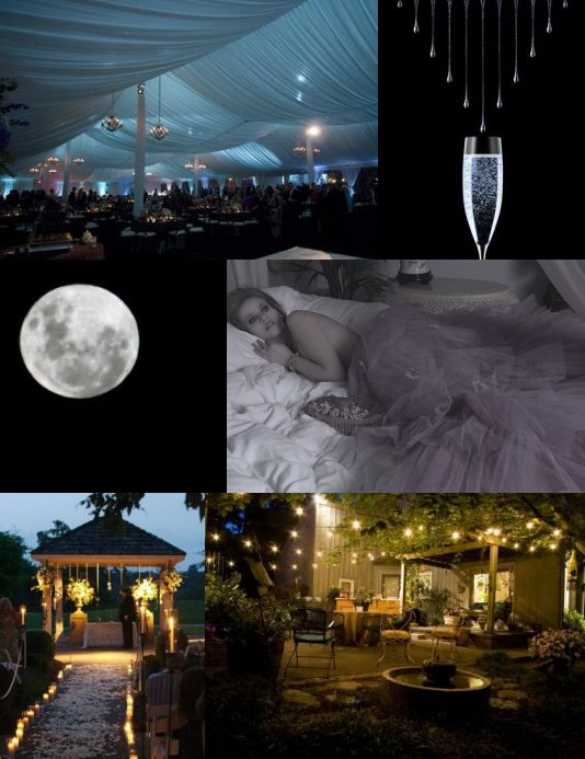 Sweet Dreams weddings at night board created by its a jaime thing dotcom 2
