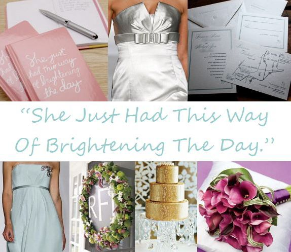 take your wedding home with you place setting and board via its a jaime thing dot com