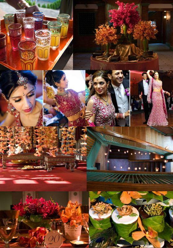 décoration mariage theme indien deco amriage inde decoration mariage indoux indouiste elephant inde marque place decor de table couleurs
