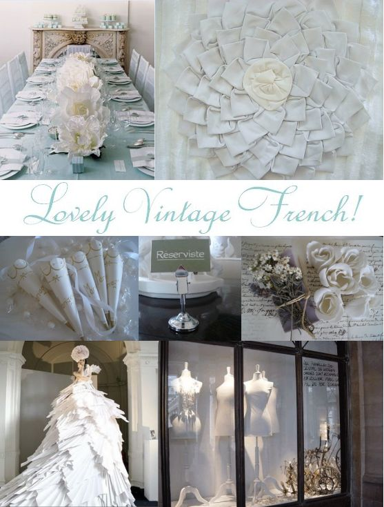 vintage french blue inspiration board created by its a jaime thing dotcom 1