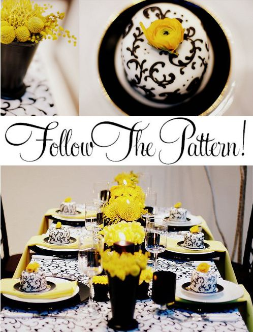 Tattoo skulls black and white wedding centerpieces lack and white and yellow junglespirit Image collections