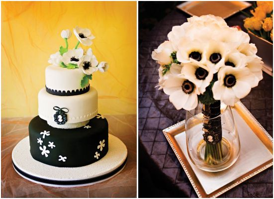 their bridal bouquet I 39m crazy over this gorgeous black and white duo